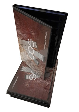 Presentation - storage book metal 10 pcs